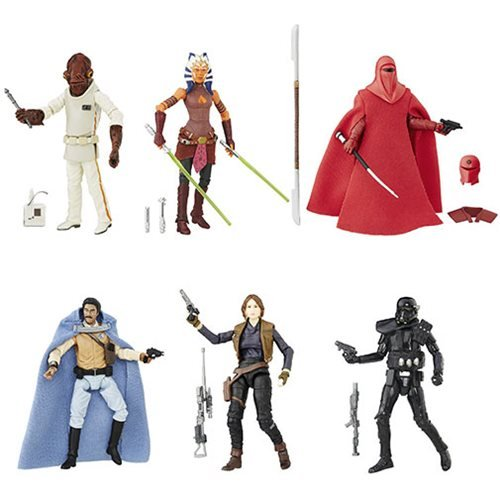 Star Wars The Black Series 3 3/4-Inch Action Figures Wave 4