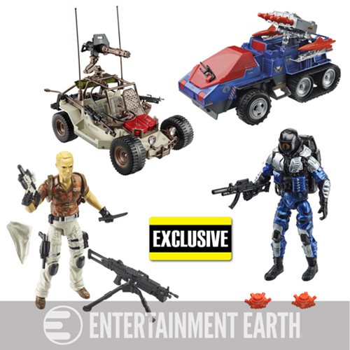 G.I. Joe Desert Duel Vehicles with Action Figures Exclusive