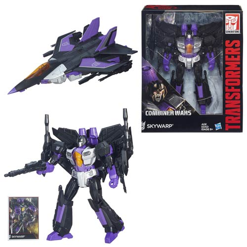 Transformers Generations Combiner Wars Skywarp, Not Mint
