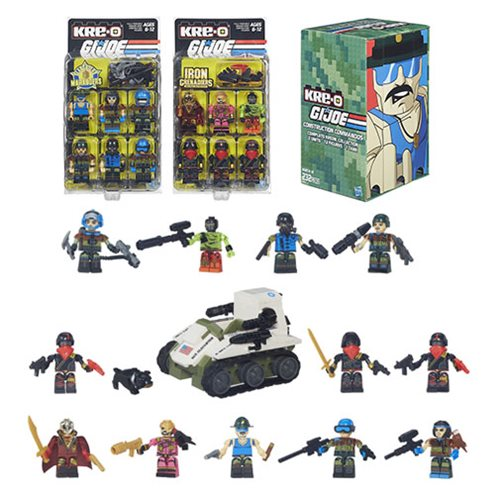 Kre-O G.I. Joe Construction Commandos - Exclusive