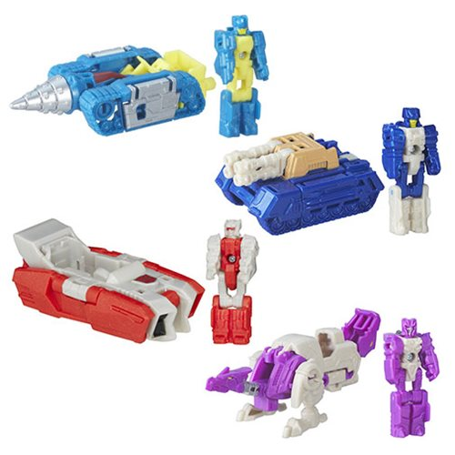 Transformers Generations Titan Masters Wave 1 Set