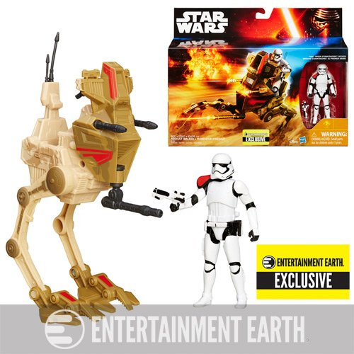 Star Wars Desert Assault Walker with Figure - Entertainment Earth Exclusive