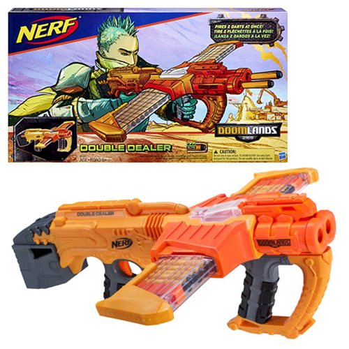 Nerf Doomlands Delivers a Double Shot of Justice