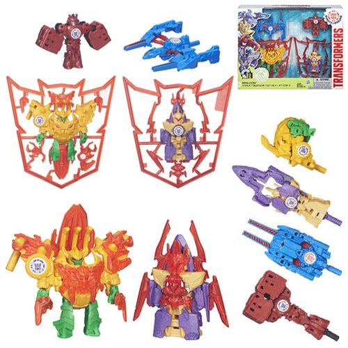 Transformers Robots in Disguise Mini-Cons 4-Pack - Weapons