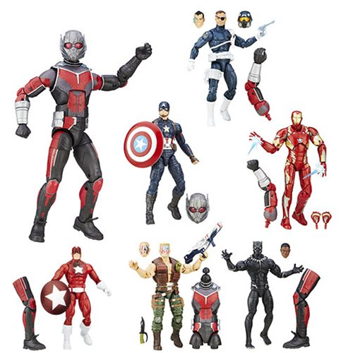 Captain America Civil War Marvel Legends Figures Wave 2 Rev1