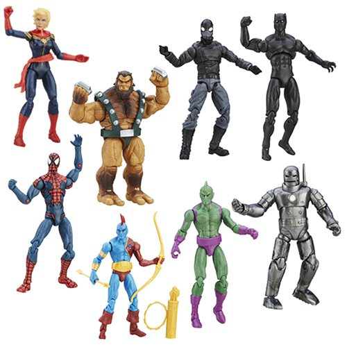 Spider-Man and Friends Are Ready for Battle in Marvel Legends Series