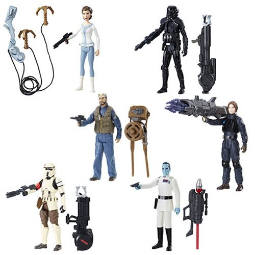 Star Wars Rogue One 3 3/4-Inch Action Figures Wave 3 Set