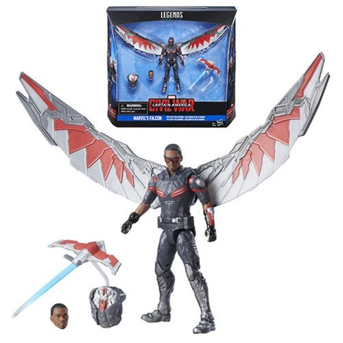 Captain America Civil War Marvel's Falcon Action Figure