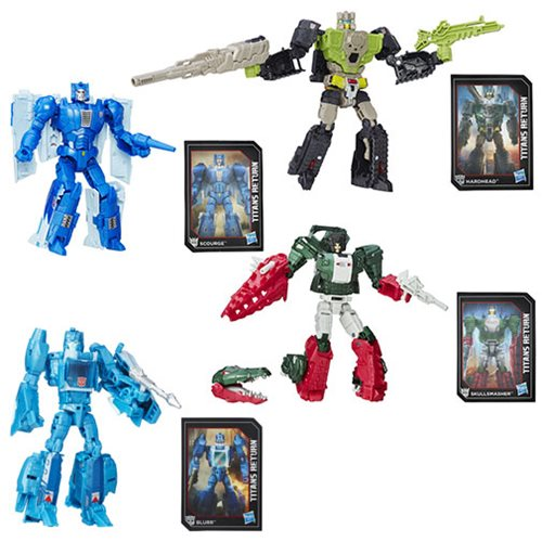 Transformers Generations Titans Return Deluxe Wave 1 Set
