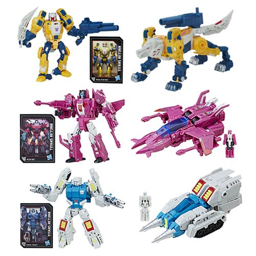 Transformers Titans Return - Hot Deluxe Action