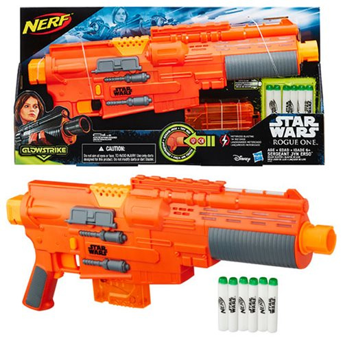 Laser Guns Mean Big Fun - New Rogue One Blasters