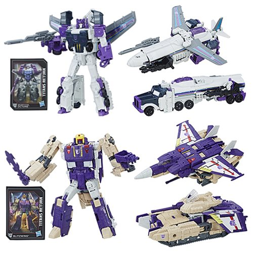 Transformers Generations Titans Return Voyager Wave 5