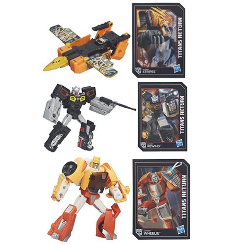 Transformers Generations Titans Return Legends Wave 1