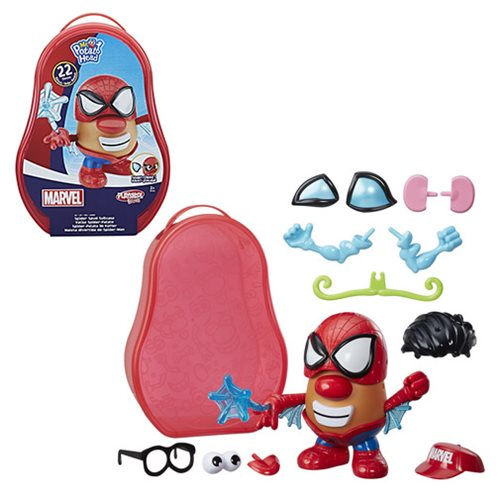 Spider-Man Spider-Spud Suitcase Mr. Potato Head