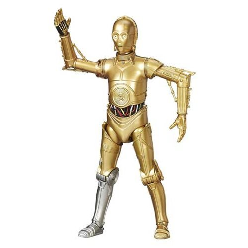 Star Wars The Black Series C-3PO 6-Inch Figure, Not Mint