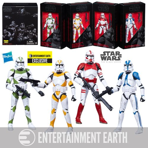Star Wars - New Exclusive Black Series 6-Inch Action Figures!