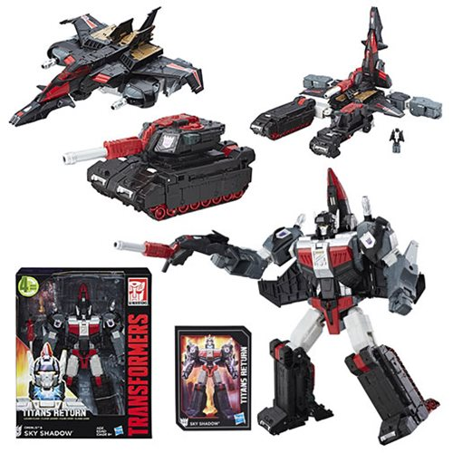 Double Down on Decepticons with Sky Shadow!