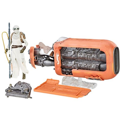 Star Wars The Black Series Rey's Speeder Vehicle