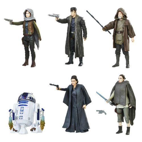 Star Wars: The Last Jedi Orange Action Figures Wave 2 Set