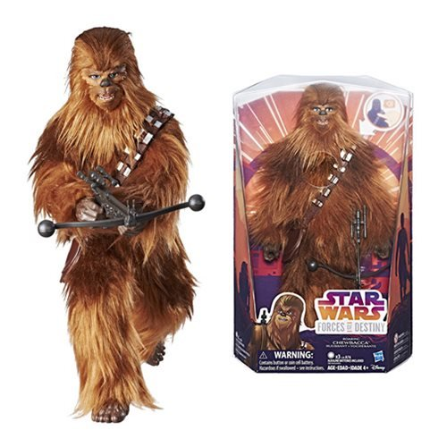 Star Wars Forces of Destiny Chewbacca Adventure Figure