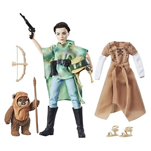 Star Wars Forces of Destiny Endor Leia Adventure Figure