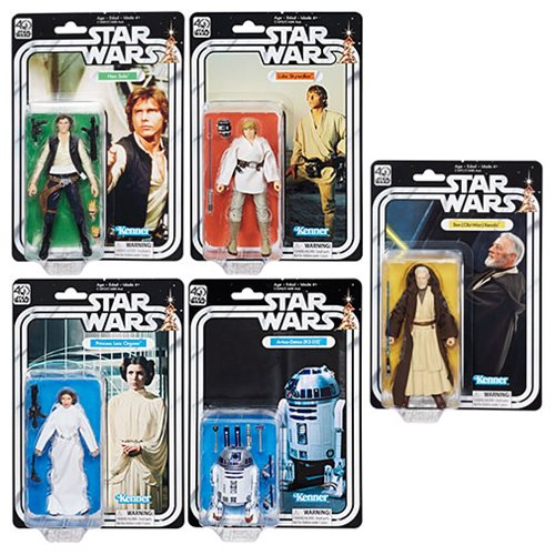 Star Wars Black Series 40th Anniv. 6-Inch Figures Wave 1