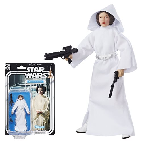 Star Wars Black Series 40th 6-Inch Princess Leia Figure