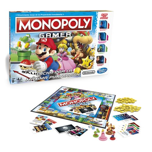 Nintendo Fans, Check Out Monopoly Gamer Edition