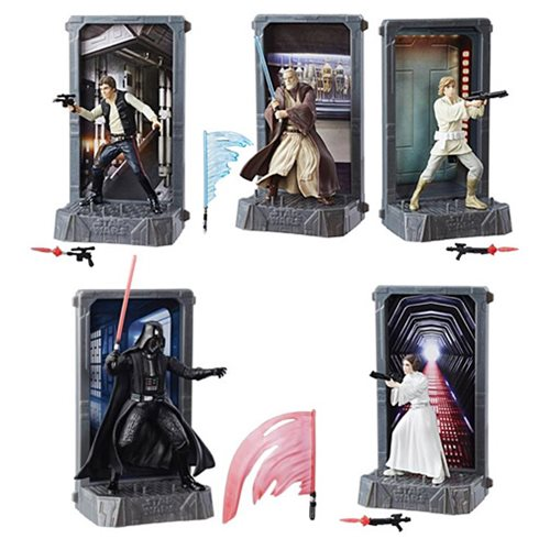 Star Wars 40th Anniversary Die-Cast Metal Figures Wave 1