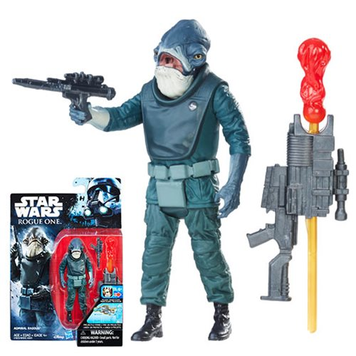 Star Wars Rogue One Admiral Raddus Action Figure