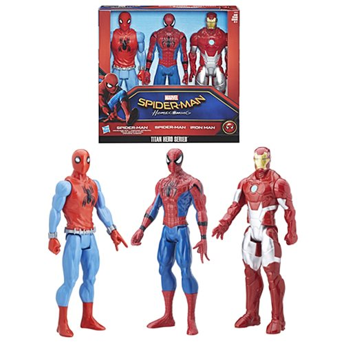 Spider-Man Titan Hero Series Action Figure 3-Pack