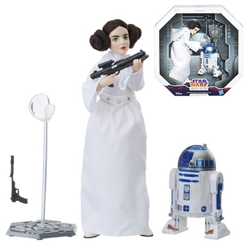 Princess Leia Adventure Figure with R2-D2