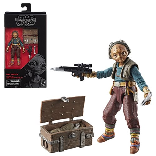 New Star Wars Black Series - Maz Kanata!