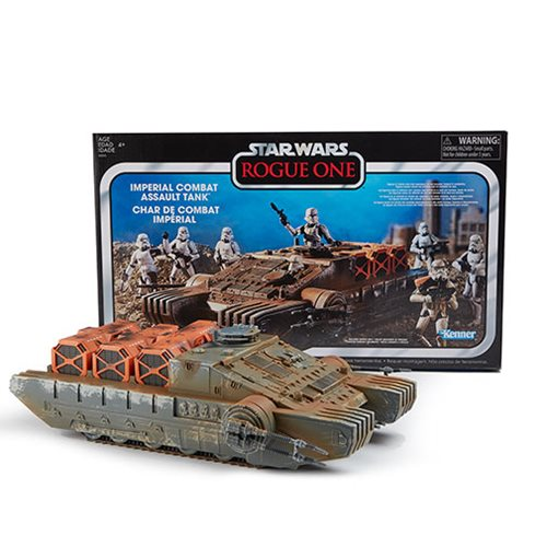 Star Wars The Vintage Collection Rogue One Imperial Combat Assault Hovertank Vehicle