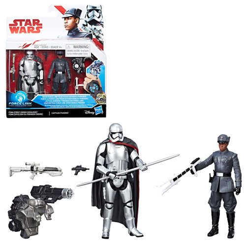 Star Wars: The Last Jedi Finn vs Phasma 3 3/4-Inch Figures