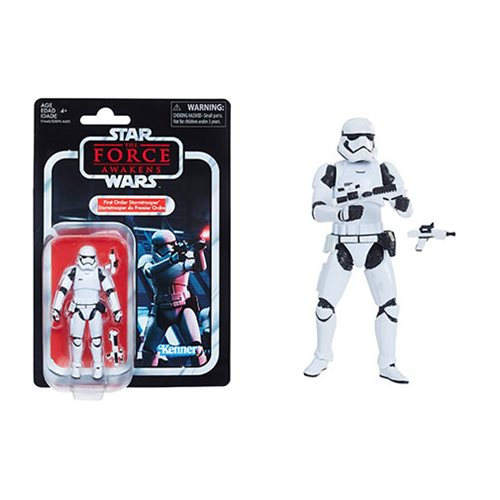 Star Wars TVC First Order Stormtrooper 3 3/4-Inch Figure