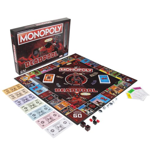 Deadpool Monopoly - New Marvel Game from Hasbro