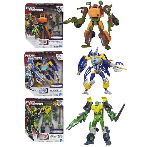 Transformers Generations Voyager Wave 7