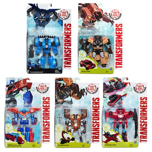 Transformers Robots in Disguise Warriors Wave 7