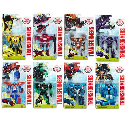 Transformers Robots in Disguise Warriors Wave 8