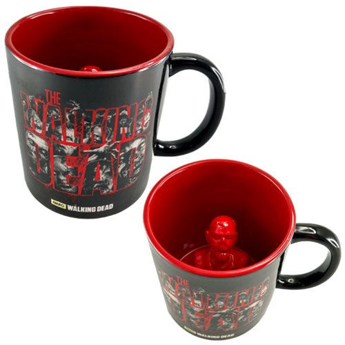 The Walking Dead Molded Zombie Inside 20 oz. Ceramic Mug