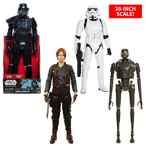 Embiggen Your Rogue One Collection with Big Figs!