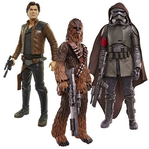 Star Wars Solo 20-Inch Big Fig Action Figure Wave 1 Set