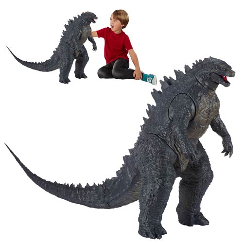 Giant Godzilla Action Figure Is Ready to Stomp!