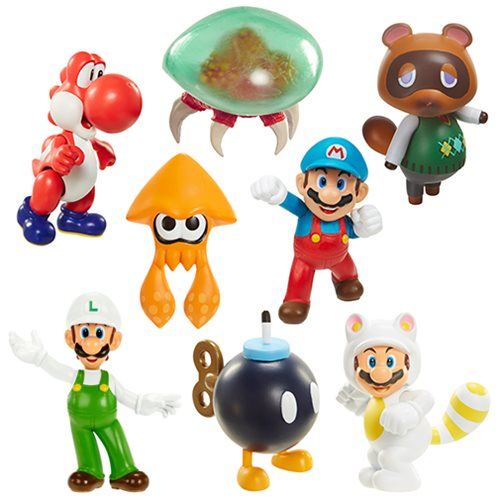 Nintendo 2 1/2-Inch Mini-Figure Wave 9 Case