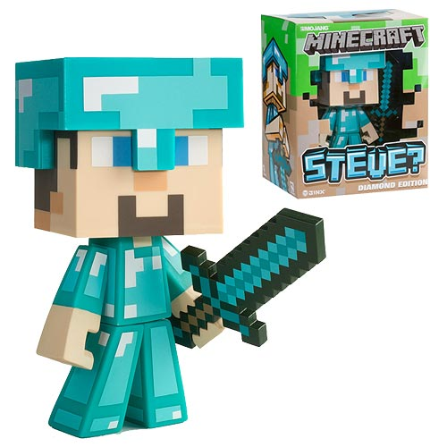 Minecraft Steve is Ready for Adventure