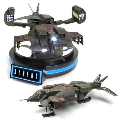 Drop in on Aliens with Your Levitating Dropship