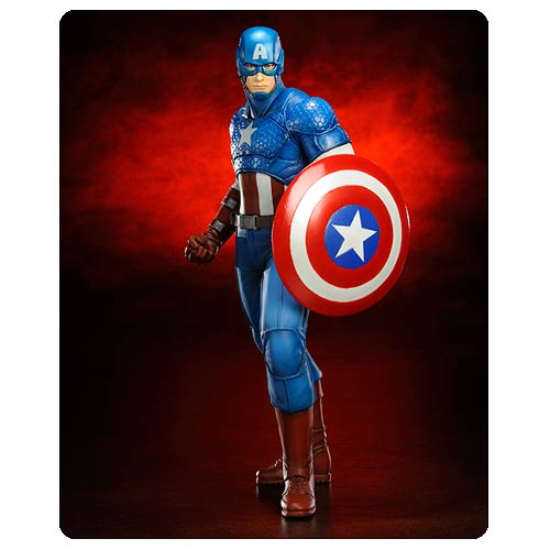 The First Avenger in a New Statue Line!