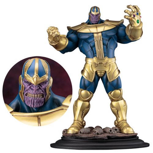 Thanos Statue Unleashes the Power
