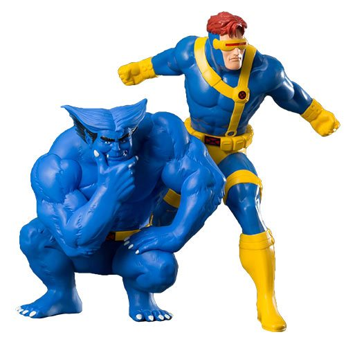 Marvel Universe X-Men Cyclops and Beast 2-Pack ArtFX+ Statue